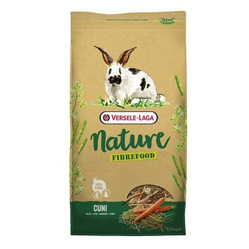 May Vary - Front - Versele Laga Nature Fibrefood Cuni Rabbit Food
