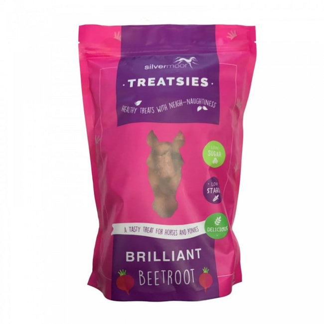 Front - Silvermoor Treatsies Brilliant Beetroot Horse Treats