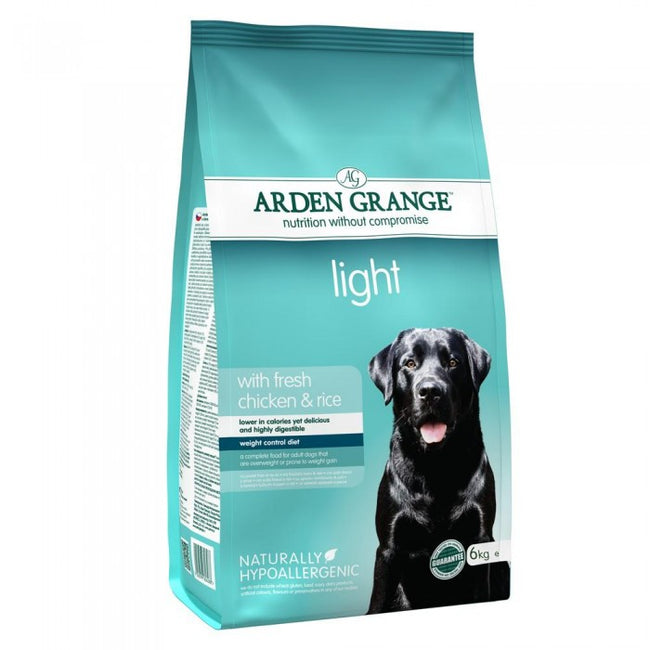Front - Arden Grange Light Chicken & Rice Dog Food