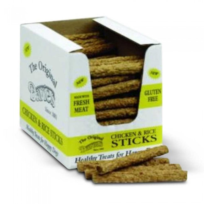 Front - Davies Ranger Chicken And Rice Sticks Dog Treats (Pack Of 120)