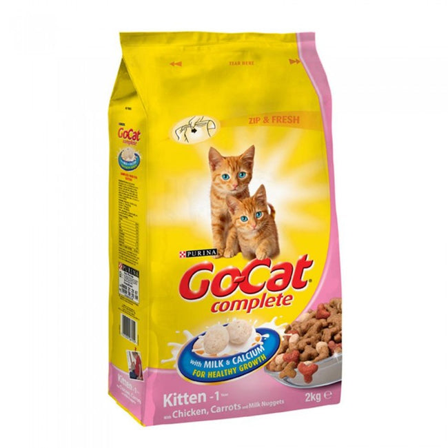 Front - Go-Cat Complete Dry Kitten Food