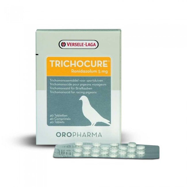 Front - Versele Laga Trichocure Tablets (Pack Of 40)