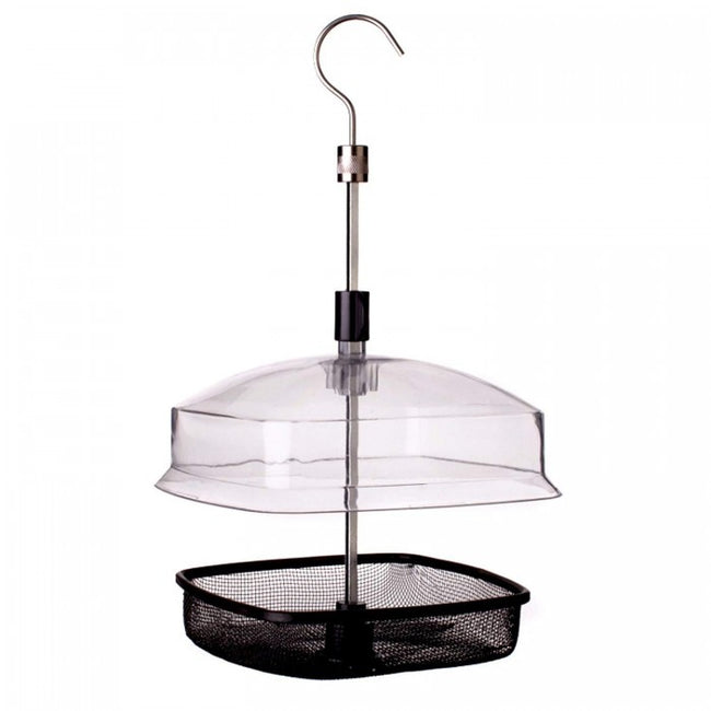 Front - Johnston & Jeff Hanging Bird Feeder Basket With Lid