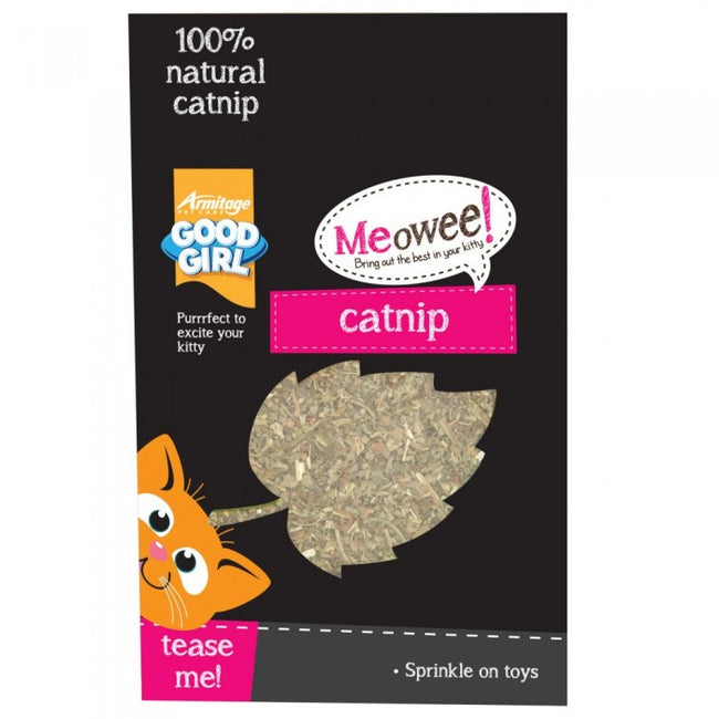 Front - Good Girl Cats Natural Catnip Leaves