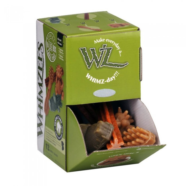 Front - Kennelpak Whimzees Variety Treat Box (12 Pieces)