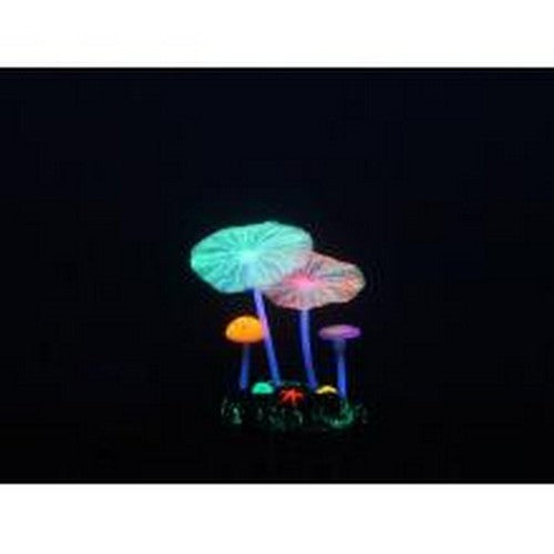 May Vary - Front - Caldex Aquarium Lumo Mushroom Lotus Ornament