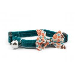 Front - Ancol Vintage Bow Cat Collar
