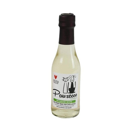 White - Front - Woof & Brew Dog Pawsecco Liquid