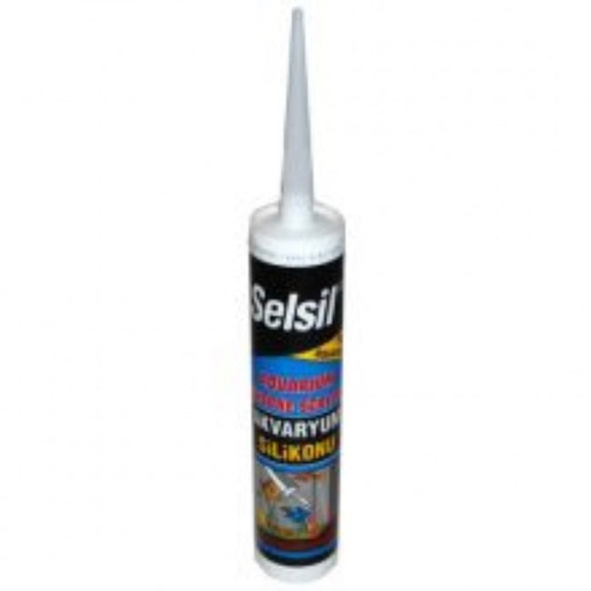 Front - Selsil Liquid Silicone Aquarium Sealant