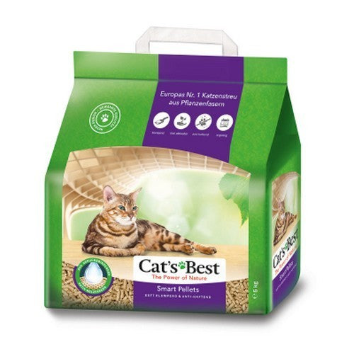 May Vary - Front - Cats Best Smart Pellet Clumping Wood Cat Litter