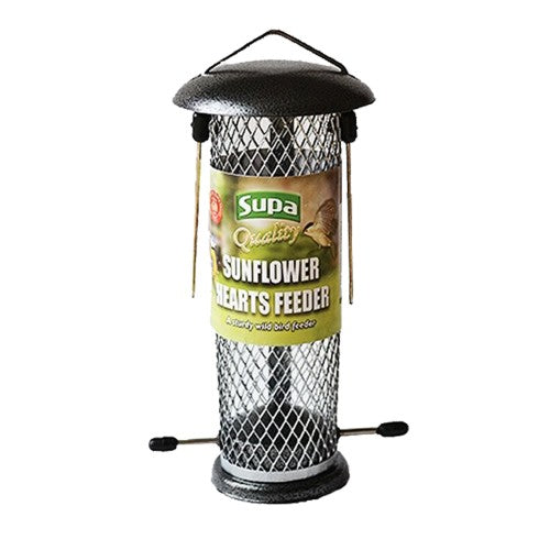 Front - Supa Metal Sunflower Hearts Bird Feeder