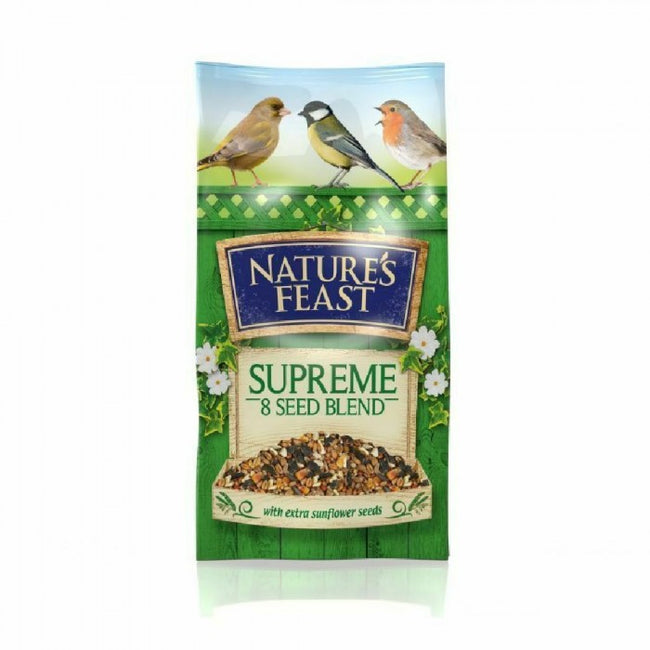 Front - Nature Feast Supreme 8 Seed Blend