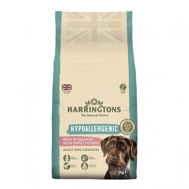 Front - Harringtons Grain Free Salmon & Sweet Potato Dog Food