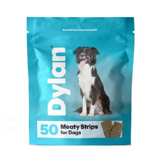 Front - Dylan Meaty Strips Dog Treats