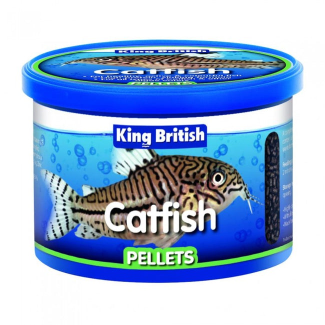 Front - King British Catfish Pellet Food