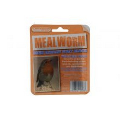 May Vary - Front - Unipet Suet To Go Mealworm Block In Tray Bird Treat