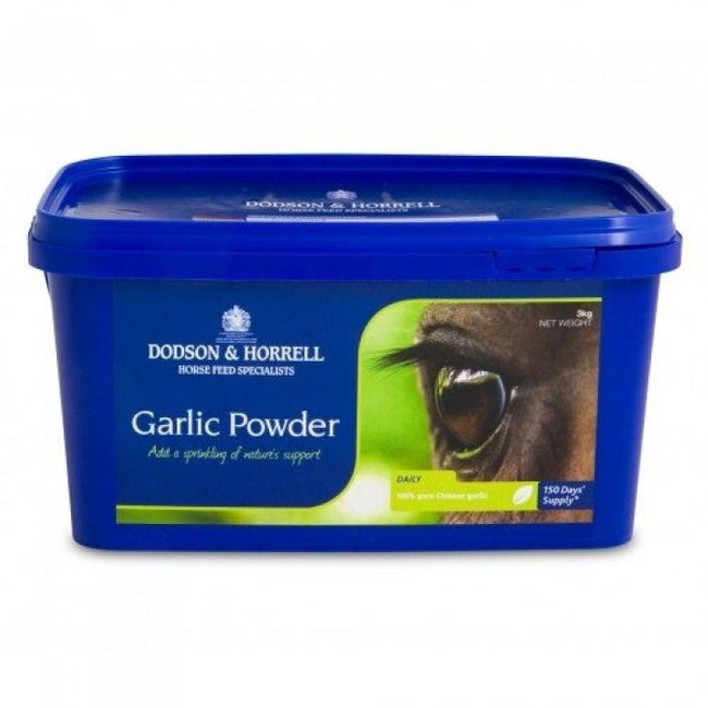 Front - Dodson & Horrell Garlic Powder For Horses