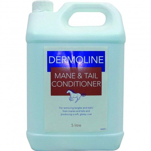 Front - Dermoline Mane And Tail Conditioner Liquid For Horses
