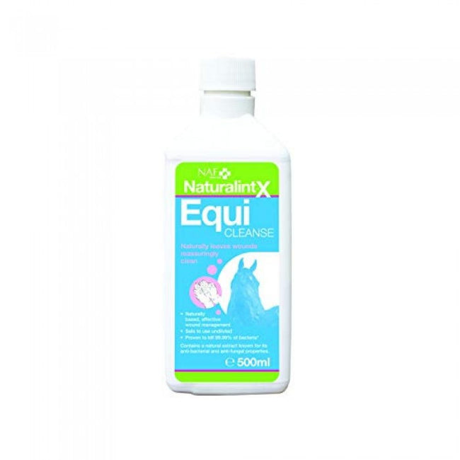Front - NAF NaturalintX EquiCleanse Wound Liquid