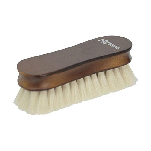 Front - HySHINE Deluxe Wooden Face Brush