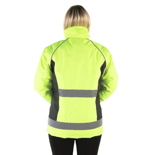 Front - HyVIZ Adults Waterproof Riding Jacket