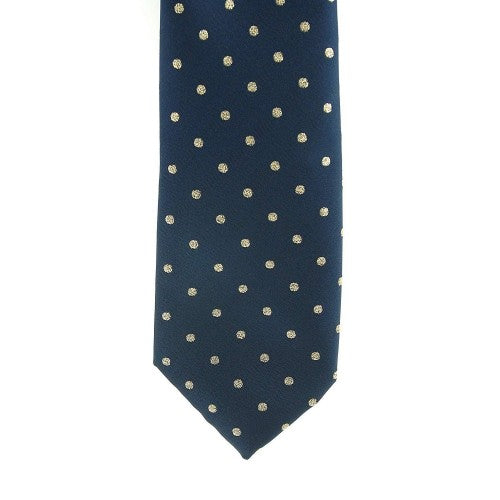 Front - ShowQuest Childrens/Kids Lurex Spot Tie