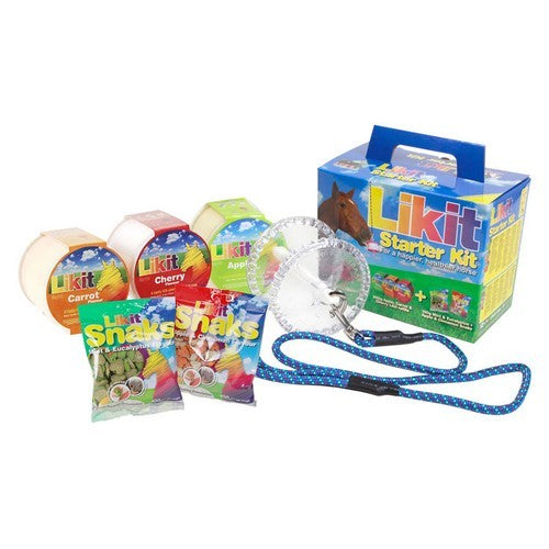 Clear Glitter - Front - Likit Horse Treat Starter Kit