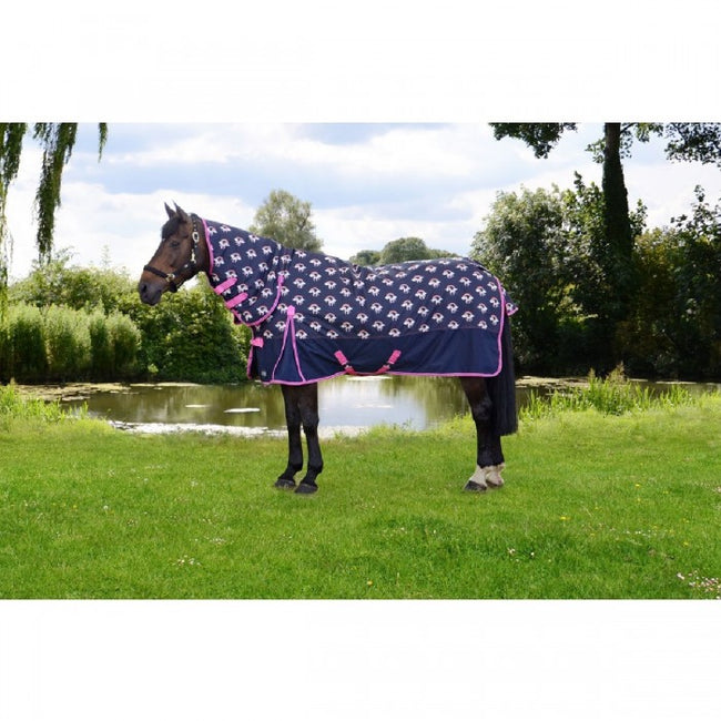 Front - Hy Unicorn 200 Combi Turnout Rug