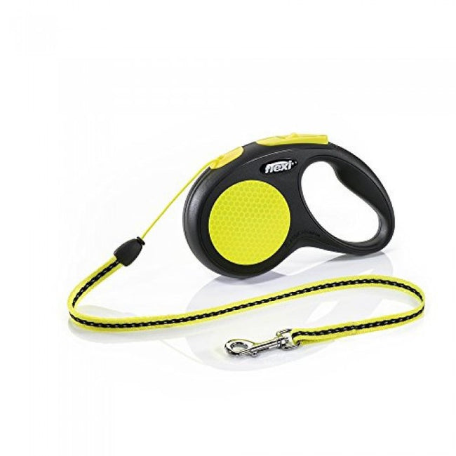 Front - Flexi New Classic Neon Cord Dog Lead