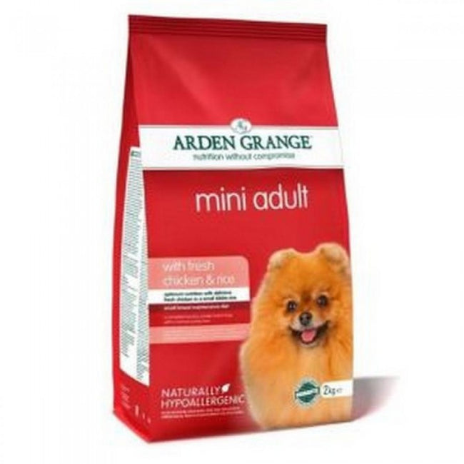 May Vary - Front - Arden Grange Mini Adult Dry Dog Food