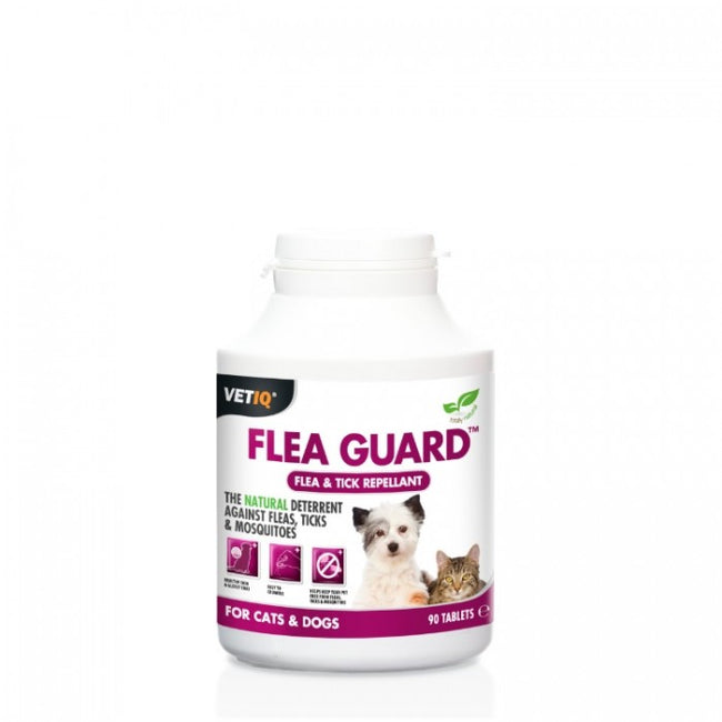 Front - VetIQ Flea Guard Tablets For Cats And Dogs