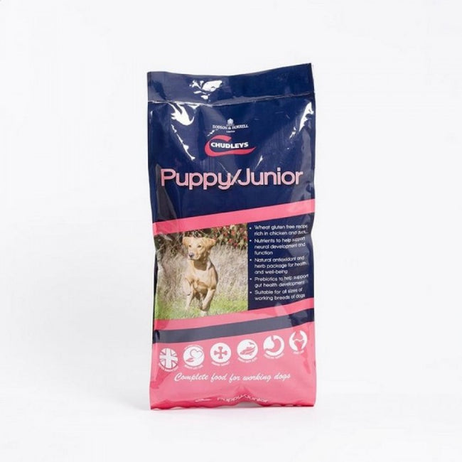 Front - Chudleys Puppy/Junior Chicken Complete Dry Dog Food