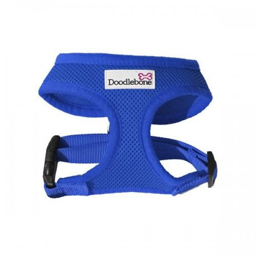 Front - Doodlebone Air Mesh Dog Harness