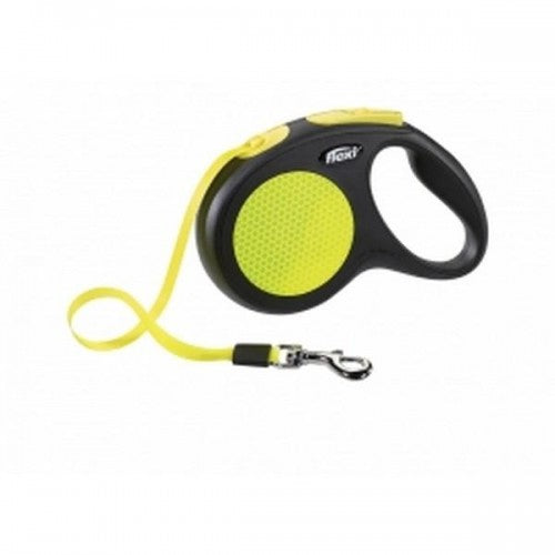 Front - Flexi Neon Reflective Dog Lead
