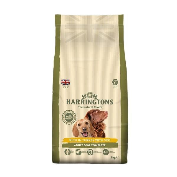 May Vary - Front - Harringtons Turkey And Veg Adult Dog Food