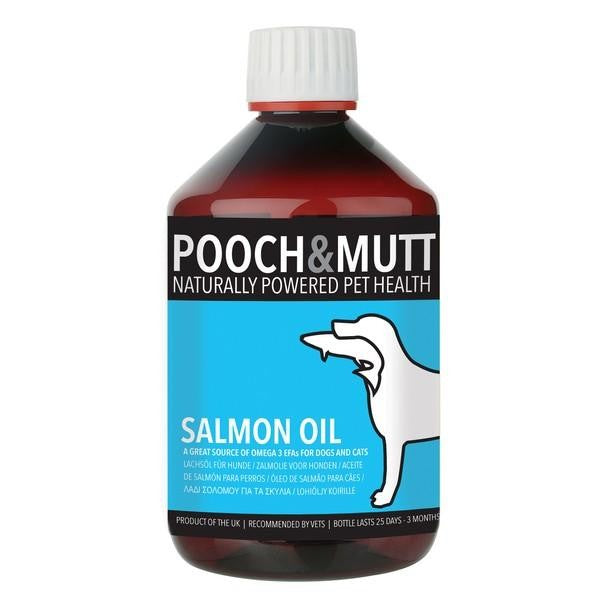 Front - Pooch And Mutt Salmon Oil Liquid For Dogs And Cats
