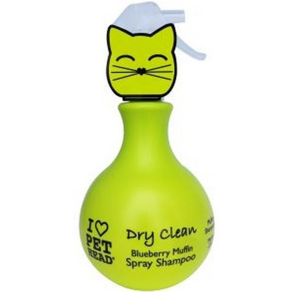 Front - Pet Head Cat Dry Clean Spray Liquid