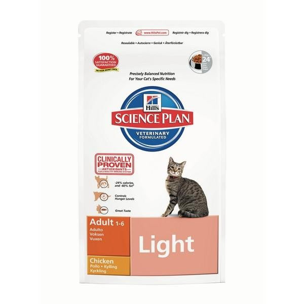 Front - Hills Feline Light Adult With Chicken Cat Food