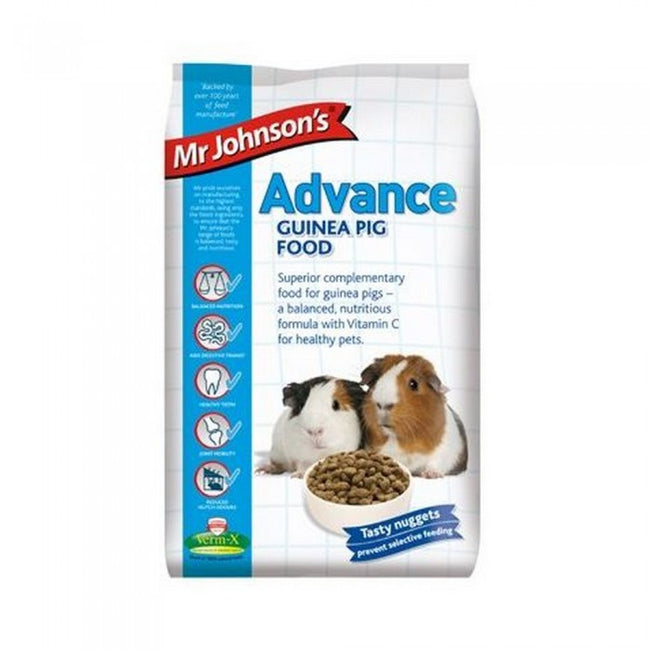 Front - Mr Johnsons Advance Guinea Pig Food