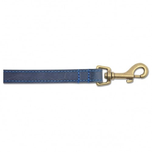 Front - Ancol Timberwolf Leather Dog Lead
