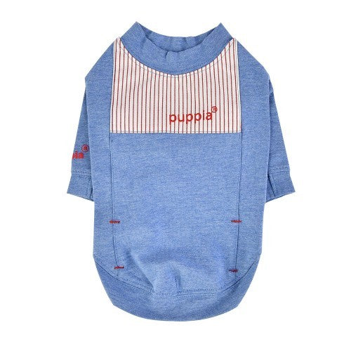 Blue - Front - Puppia Kelby Dog T-Shirt