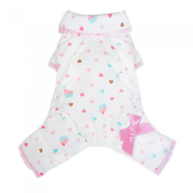 Front - Pooch Outfitters Cupcake Dog Pyjamas