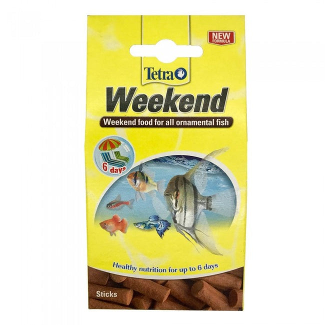 Front - TetraMin Weekend Holiday Ornamental Fish Food (10 Sticks)