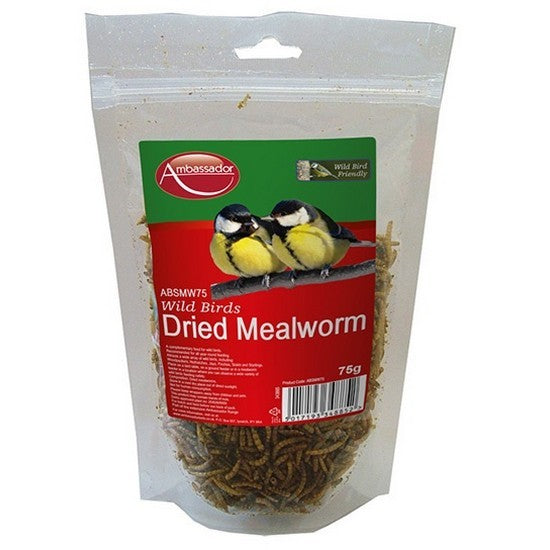 Front - Ambassador Mealworms Bird Food