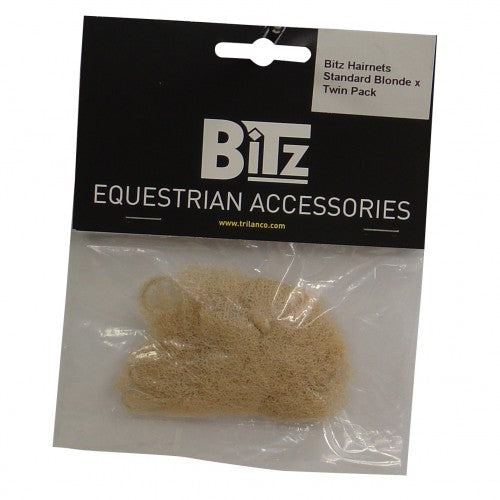 Front - Bitz Standard Hairnets (Pack Of 2)