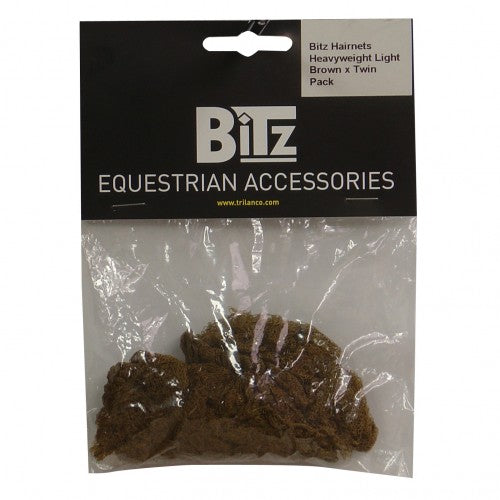 Front - Bitz Heavyweight Hairnets (Pack Of 2)