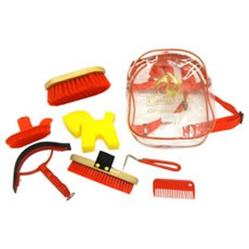 Red - Front - Cottage Craft Grooming Kit