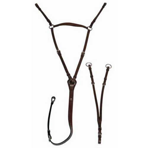 Front - Mark Todd Leather Hunting Breastplate