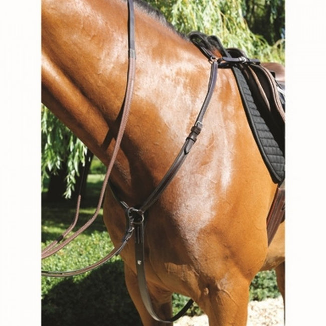 Front - Mark Todd Leather Padded Breastplate