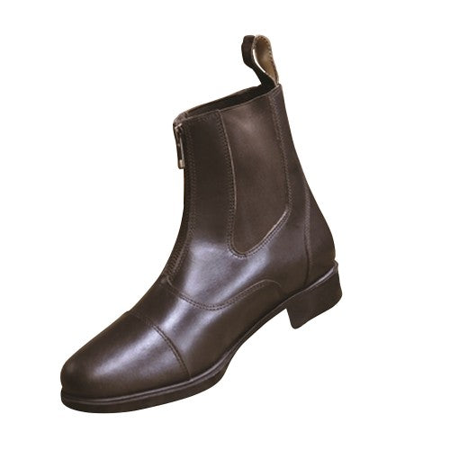 Front - Mark Todd Adults Toddy Zip Jodhpur Boots